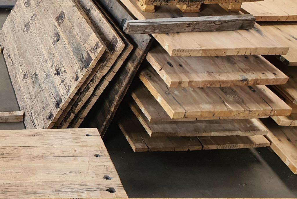 bielzen wagonplanken tafelbladen